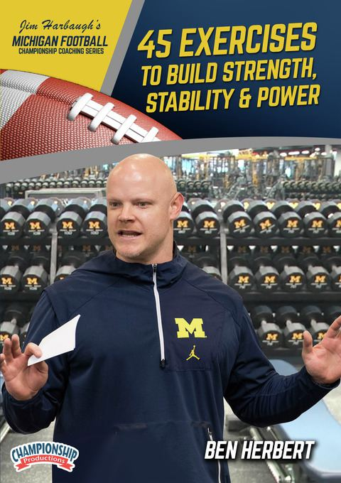 Michigan Football Series: 45 Exercises to Build Strength