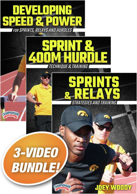 Joey Woody's Strategies and Training the Sprints 3-pack